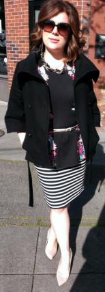 Sassy Jen baby body with jacket