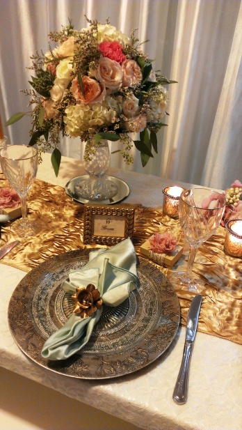 Groom Table Setting