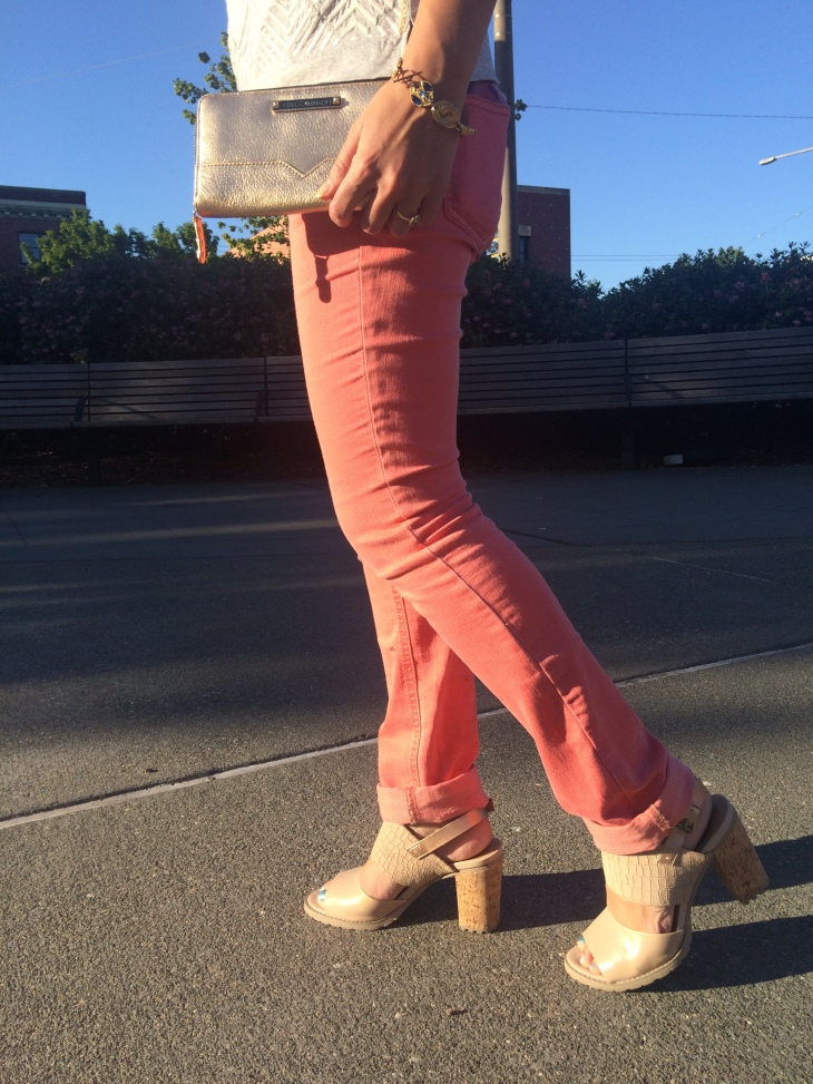 Chunky Neutral Heels