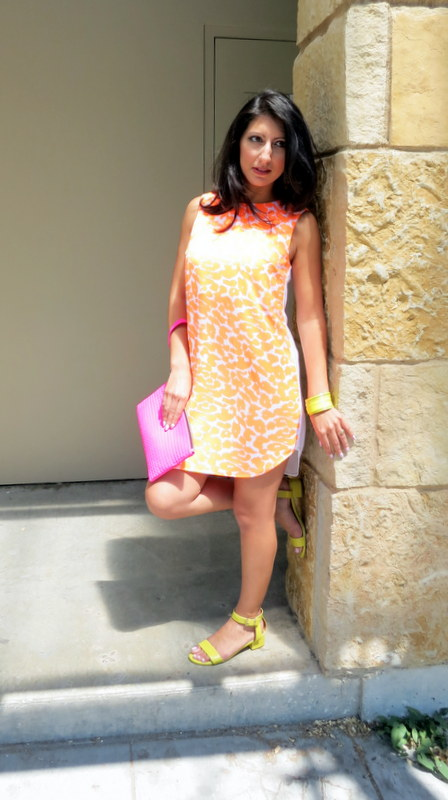Finders Keepers Bright Orange Dresss