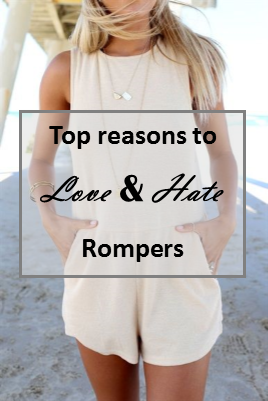 Top reasons to love and hate rompers
