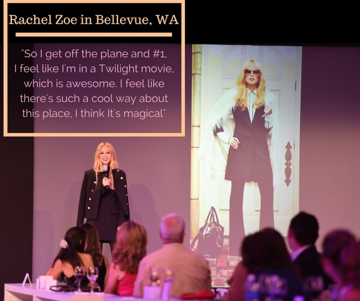 Rachel Zoe in Bellevue
