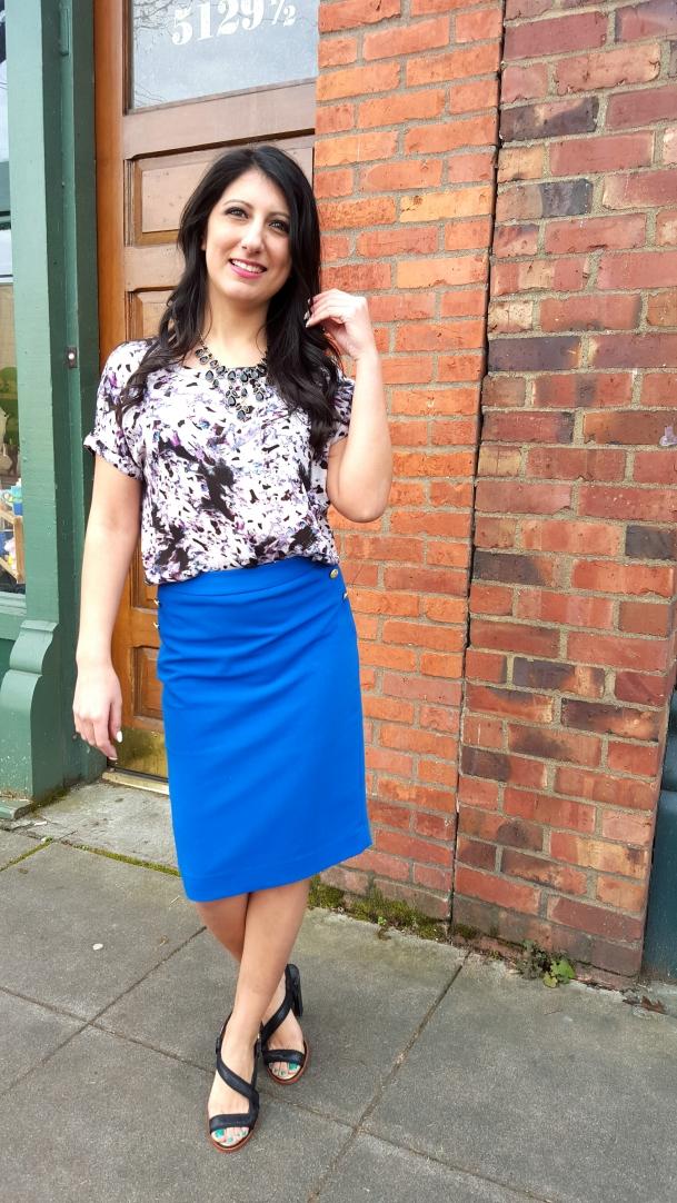 bright-print-top-blue-skirt