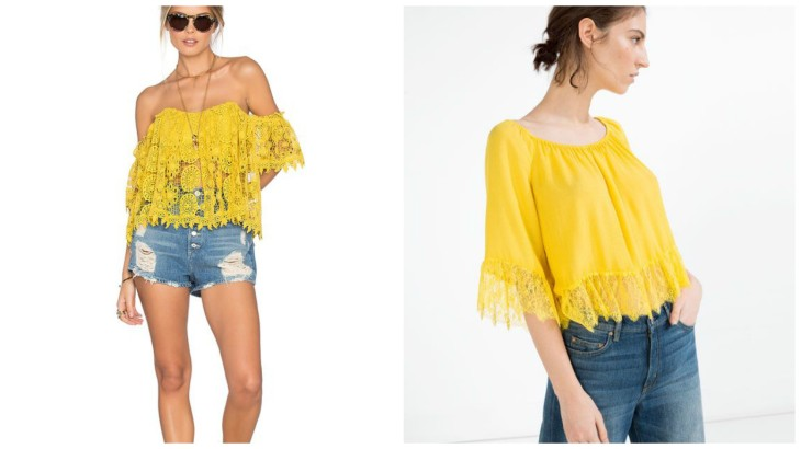 yellow-off-the-shoulder-top