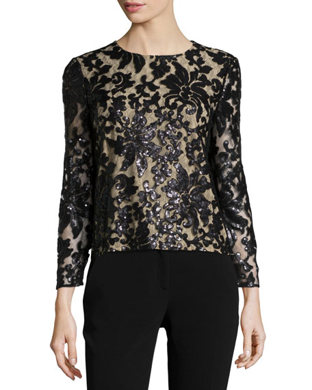belle-sequined-floral-top