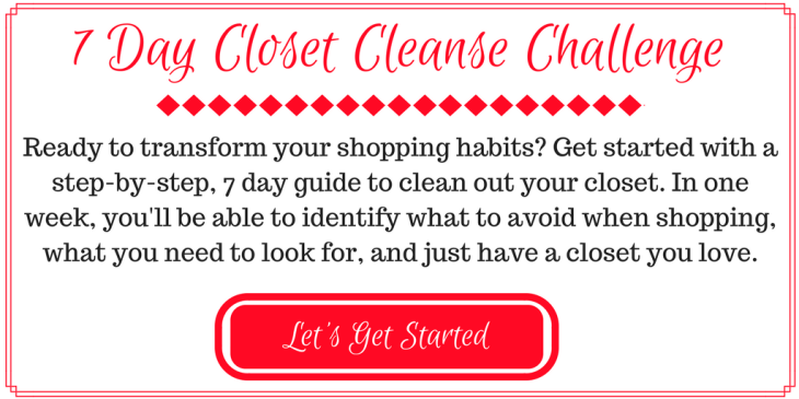 7 Day ClosetCleanse Challenge