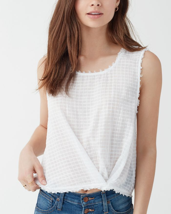 splendid knotted top