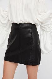 Suede Mini Skirt||FreePeople||$60